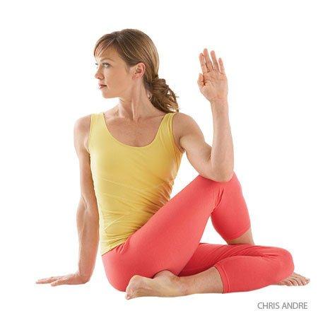 Йога для остеохондроза шейного и грудного отделов позвоночника